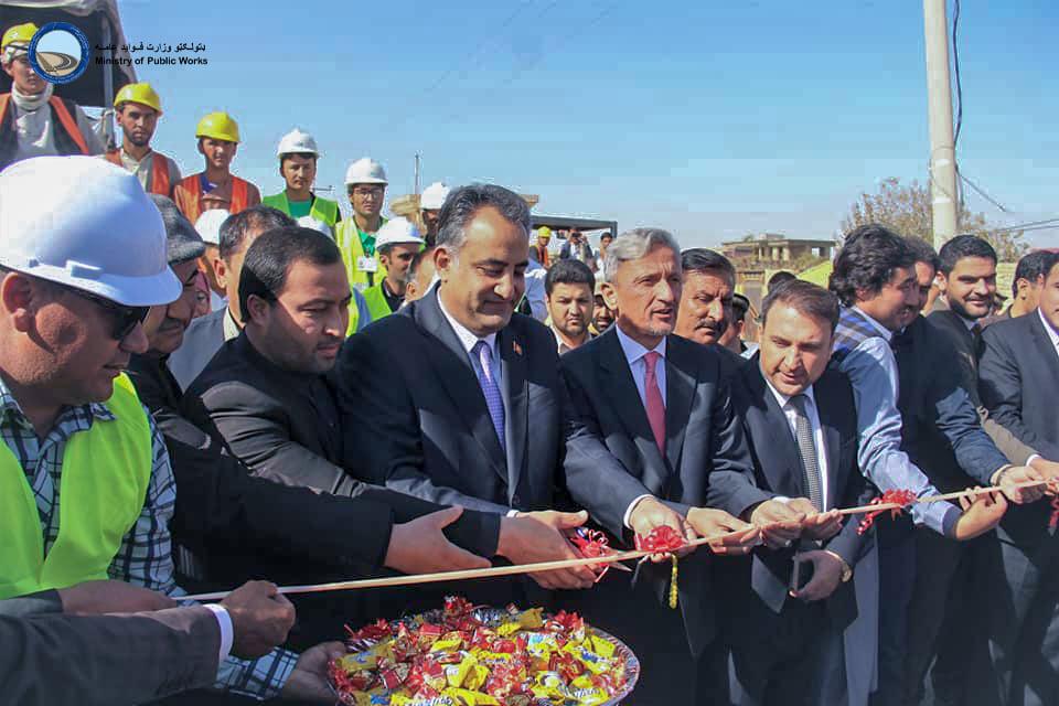اسفالت ریزی سرک دوم حلقوی شهر مزار شریف آغاز گردید