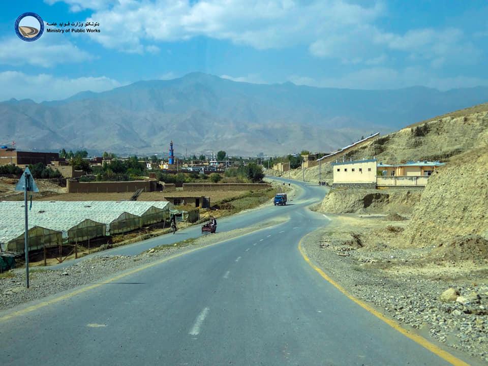 د کابل ولایت د مرغګیرانو کلي سړک د جوړولو کار بشپړ او ګټي اخیستني ته چمتو ده