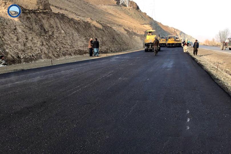 د کابل ـ لوګر د دویم لین د دویم لاټ سړک د جوړولو کار څه باندې ۸۸ سلنه بشپړ شوی
